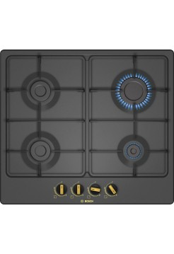 Газовая варочная панель 60 cm Black PGP6B3B60