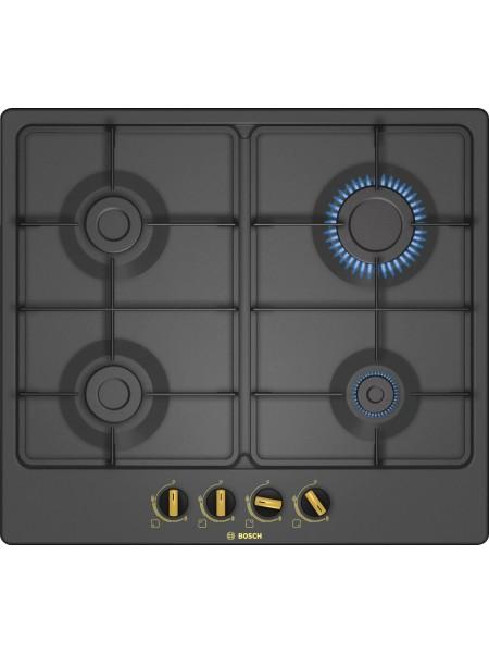 Serie | 4 Газовая варочная панель 60 cm Black PGP6B3B60